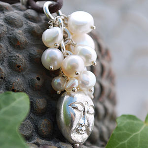Limited Edition Silver Buddha Bead Necklace - necklaces & pendants