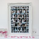 Personalised Wedding Photo Montage (large)