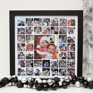 Personalised Contemporary Photo Montage - baby's room