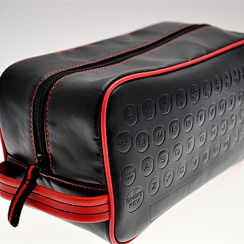 qwerty washbag