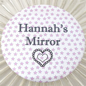 Personalised Pocket Mirror - wedding favours