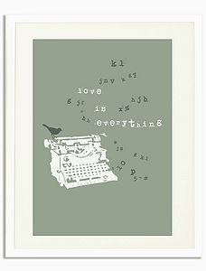 'Love Is Everything' Print - style-savvy