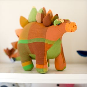 Fair Trade Stegosaurus Soft Toy