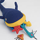 Fair Trade Whale And Friends Soft Toy Set
