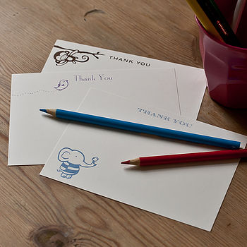 Children's Thank You Cards