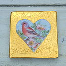 Ceramic Heart Tile