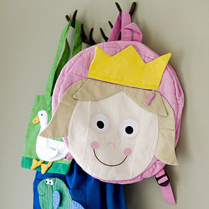 Fair Trade Fairy Princess Rucksack - children's room