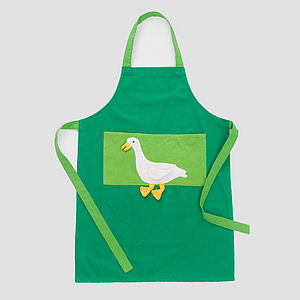 Fair Trade Goose Apron - children's cooking