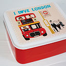 I Love London Lunch Box