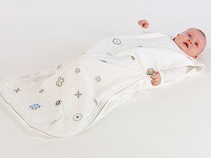 Noughts And Crosses Sleepsack - baby sleeping bags