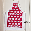 Floral Or Christmas Apron