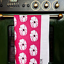 Anemone Tea Towel