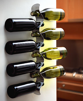 'Flow' Wine Rack
