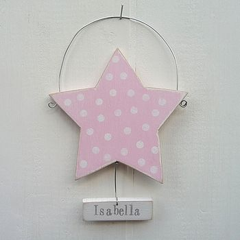 Personalised Dotty Star