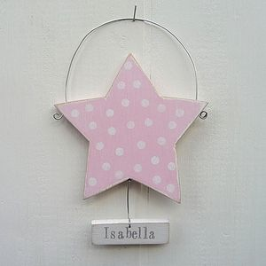 Personalised Dotty Star - interior accessories