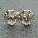Mini Blossom Flower Earrings