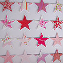 Paper Stars Picture Close Up