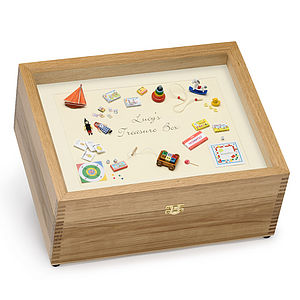 Lucy's Treasure Box - keepsakes