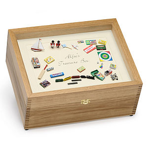 Alfie's Treasure Box - keepsakes