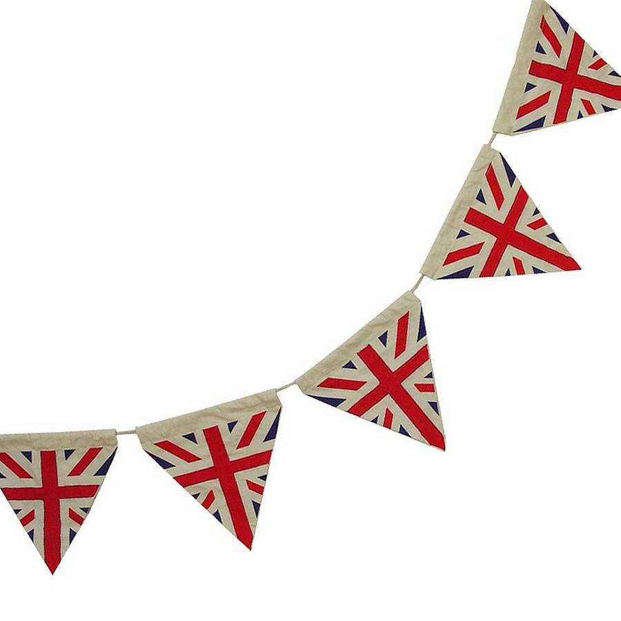 union jack bunting by ...