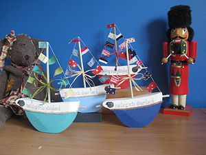 Children's Personalised Freestanding Boats
