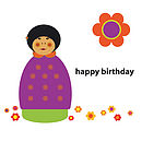 Annai Birthday Card