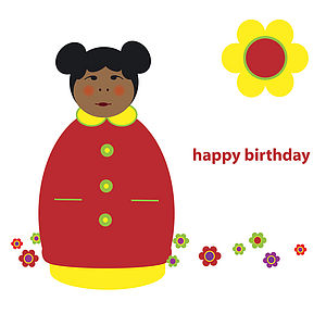 Jacoba Birthday Card - birthday cards