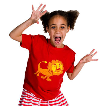 'To The Zoo' Lion T-Shirt