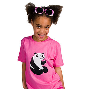 'To The Zoo' Panda T-Shirt