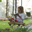Personalised English Oak Swing