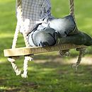 Hand Carved English Oak Swing