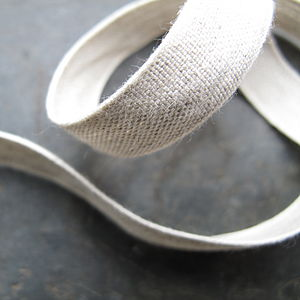 Linen ribbon - ribbon & wrap