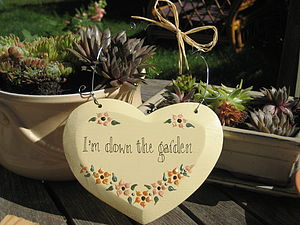 Gardeners Heart - art & decorations