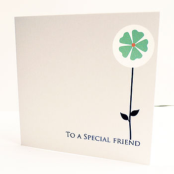 'To A Special Friend' Any Occasion Card