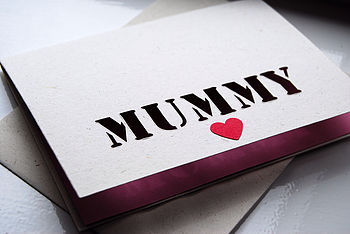 'Pink Mummy' card