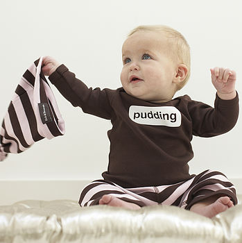 Brown Pudding Baby T-shirt