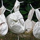 Silk Wedding Wrist Bag