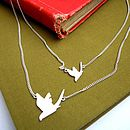 Double Swallow Necklace