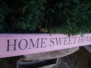 Vintage Style Large 'Home Sweet Home' Sign - outdoor decorations