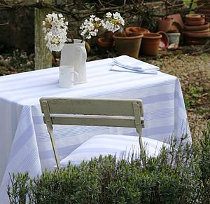 Pavilion Oilcloth Tablecloth - bed, bath & table linen