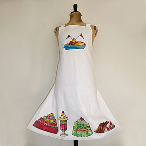 'Cakes and Jelly' Apron
