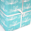 Etched Floral Gift Wrap