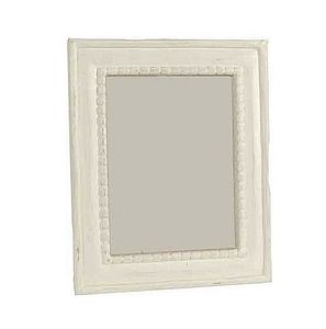 Wooden beaded photo frame - picture frames