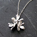 White Lilies Necklace