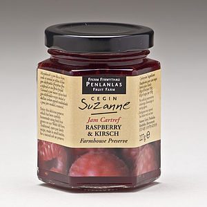 Raspberry & Kirsch Farmhouse Jam Preserve - jams & preserves