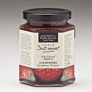Strawberry Farmhouse Jam Preserve