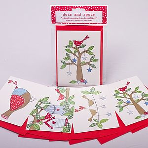 Birds of a Feather Postcards - blank cards