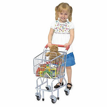 Child's Grocery Shopping Trolley