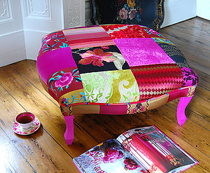 Kerala Footstool - living room