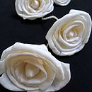 Cream Sola Rose Garland